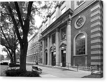 University Of Iowa Chemistry Building Canvas Print by University Icons