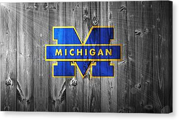 University Of Michigan Canvas Print by Dan Sproul