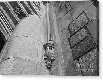 University Of Michigan Law Library Detail Canvas Print by University Icons