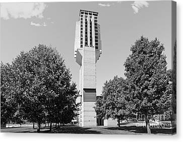 University Of Michigan Lurie Bell Tower Canvas Print by University Icons