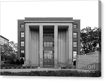 University Of Minnesota Ford Hall Canvas Print by University Icons