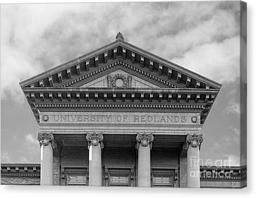 University Of Redlands Administration Building Canvas Print by University Icons