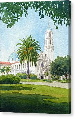 University Of San Diego Canvas Print by Mary Helmreich