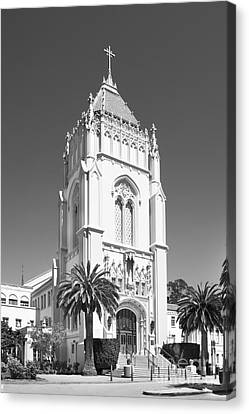 University Of San Francisco Lone Mountain Tower Canvas Print by University Icons