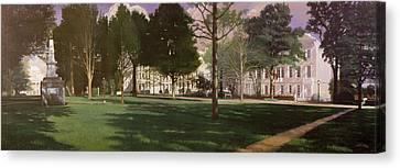 University Of South Carolina Horseshoe 1984 Canvas Print by Blue Sky