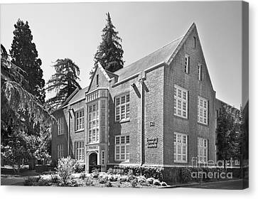 University Of The Pacific - Eberhardt School Of Business Canvas Print by University Icons