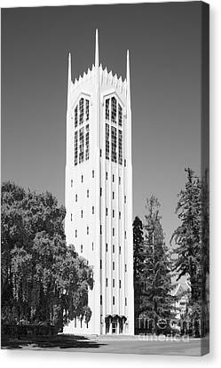 University Of The Pacific Burns Tower Canvas Print by University Icons
