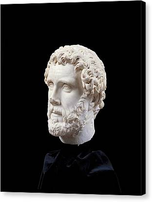 Unknown Artist, Portrait Of Antoninus Canvas Print by Everett