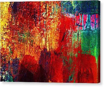 Untamed Colors  Canvas Print by Prakash Ghai