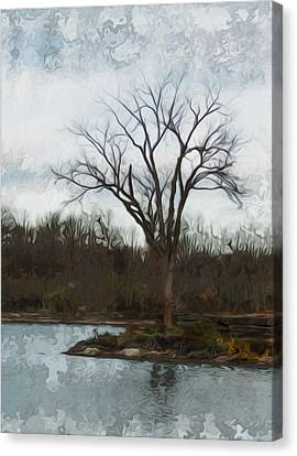 Until Spring Canvas Print by Jack Zulli