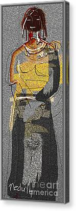 Untitled 413 Canvas Print by Nedunseralathan R