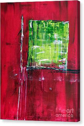 Untitled- Abstract  Canvas Print by Ismeta Gruenwald