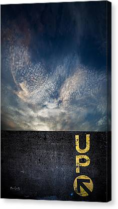 Up At Sunrise Canvas Print by Bob Orsillo