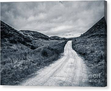 Up On The Pass Canvas Print by Susan Serna