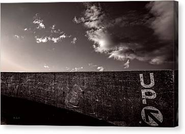 Up One Canvas Print by Bob Orsillo