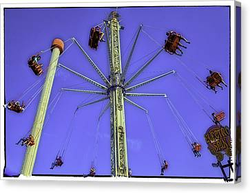 Up Up And Away 2013 - Coney Island - Brooklyn - New York Canvas Print by Madeline Ellis