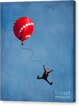 Up Up And Away Canvas Print by Juli Scalzi