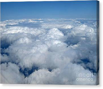 Up Up In The Sky Canvas Print by Valerie Garner