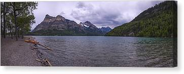 Upper Waterton Lake Canvas Print by Chad Dutson