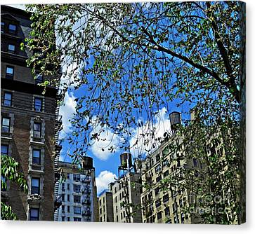 Upper West Side Spring Day Canvas Print by Sarah Loft