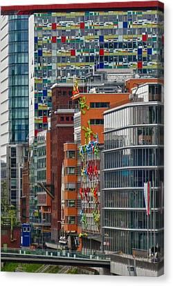 Urban Chaos Canvas Print by Richard Cummings