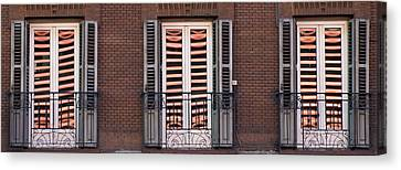 Urban Reflections Canvas Print by Frank Tschakert