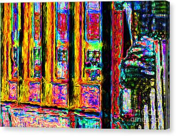 Urban Sprawl - 7d14097 Canvas Print by Wingsdomain Art and Photography