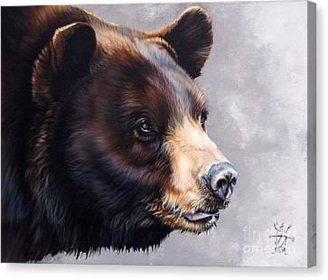 Ursa Major Canvas Print by J W Baker