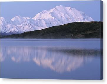 Usa, Alaska, Mount Mckinley, Wonder Canvas Print by Gerry Reynolds