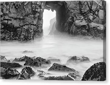 Usa, California, Pfeiffer Beach Canvas Print by John Ford