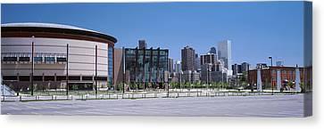 Usa, Colorado, Denver, Skyline Canvas Print by Panoramic Images