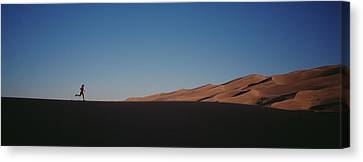 Usa, Colorado, Great Sand Dunes Canvas Print by Panoramic Images