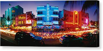 Usa, Florida, Miami Beach Canvas Print by Panoramic Images