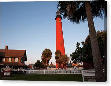 Usa, Florida, Ponce Inlet, Lighthouse Canvas Print by Lisa S. Engelbrecht