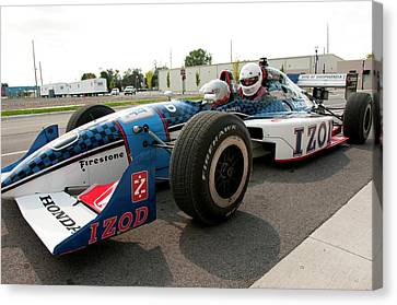 Usa, Indiana, Indianapolis Motor Canvas Print by Lee Foster