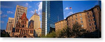 Usa, Massachusetts, Boston, Copley Canvas Print by Panoramic Images