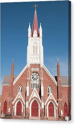Usa, Nevada St Mary's In The Mountains Canvas Print by Michael Defreitas