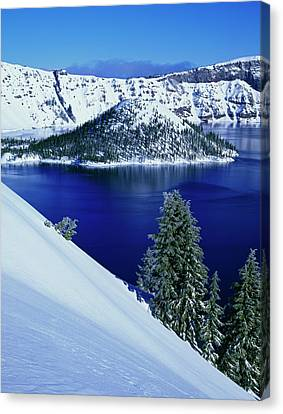 Usa, Oregon, Crater Lake National Park Canvas Print by Jaynes Gallery
