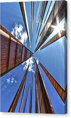Usa, Washington, Seattle Canvas Print by Christopher Reed