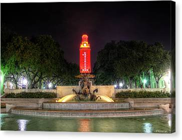 Ut Tower 1 Canvas Print by Andrew Nourse