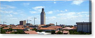 Ut Tower 2009 Canvas Print by James Granberry