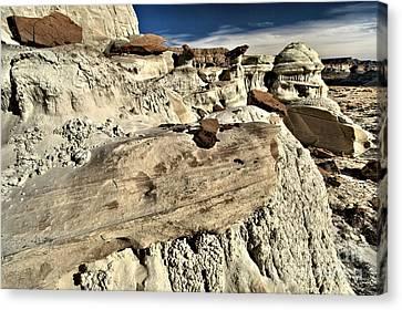 Utah Erosion Canvas Print by Adam Jewell