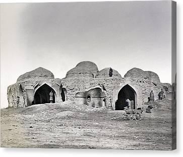 Uzbekistan Caravanseray Canvas Print by Granger