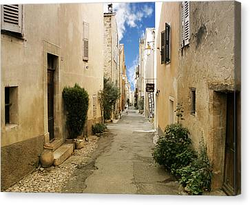 Valbonne - History And Charm  Canvas Print by Christine Till