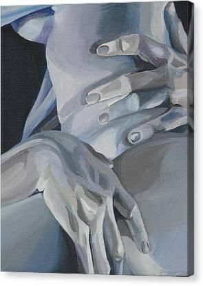 Valentine Detail Canvas Print by Julie Orsini Shakher