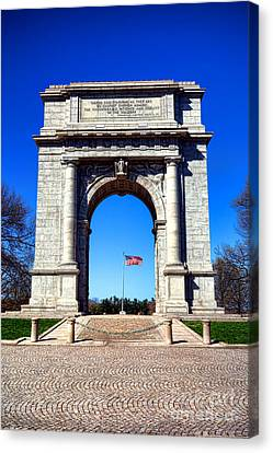 Valley Forge Landmark Canvas Print by Olivier Le Queinec