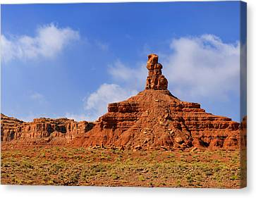 Valley Of The Gods Utah Canvas Print by Christine Till