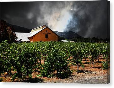 Valley Of The Moon Sonoma California 5d24485 Canvas Print by Wingsdomain Art and Photography