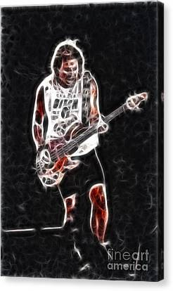 Van Halen-93-mike-gc23-fractal Canvas Print by Gary Gingrich Galleries