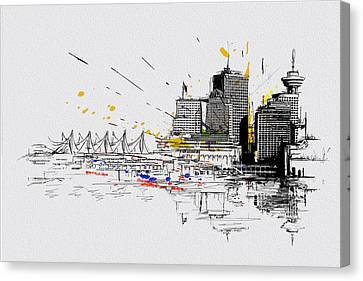 Vancouver Art 004 Canvas Print by Catf